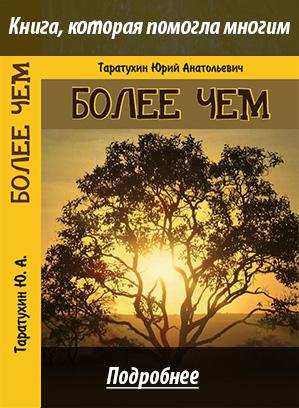 Авторская книга Более чем. Таратухин Ю.А.